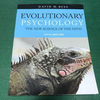 PL4214 Evolutionary Psychology - Buss