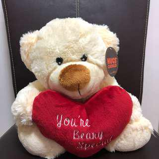 Precious Thots Hugs & Cuddles Soft Toy Bear 'You're Beaty Special'