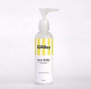 PO coco shake - make up remover & oil cleanser