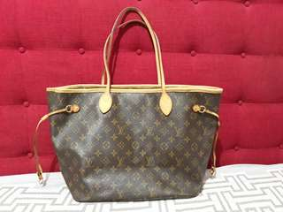 💯% ORIGINAL LOUIS VUITTON NEVERFULL MM