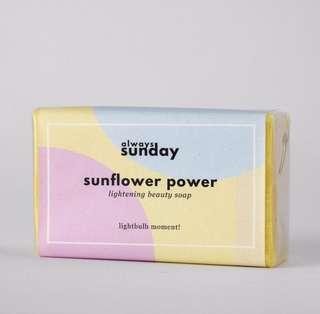 PO sunflower power - dark spot lightenin soap
