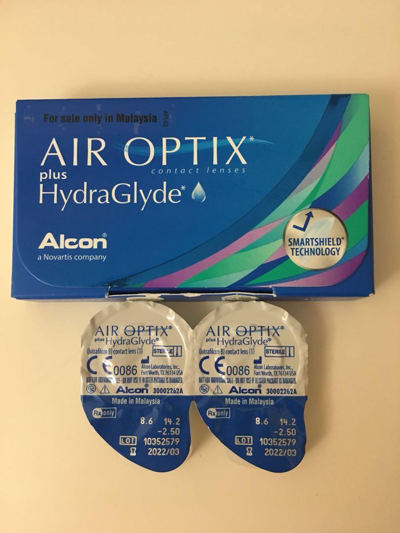 6ae994e32ec87 2.50  Air Optix plus HydraGlyde Contact Lens