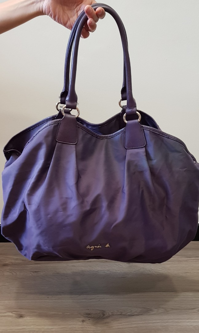 8bd3ece45e48 Agnes B Shoulder Bag, Luxury, Bags & Wallets, Handbags on Carousell