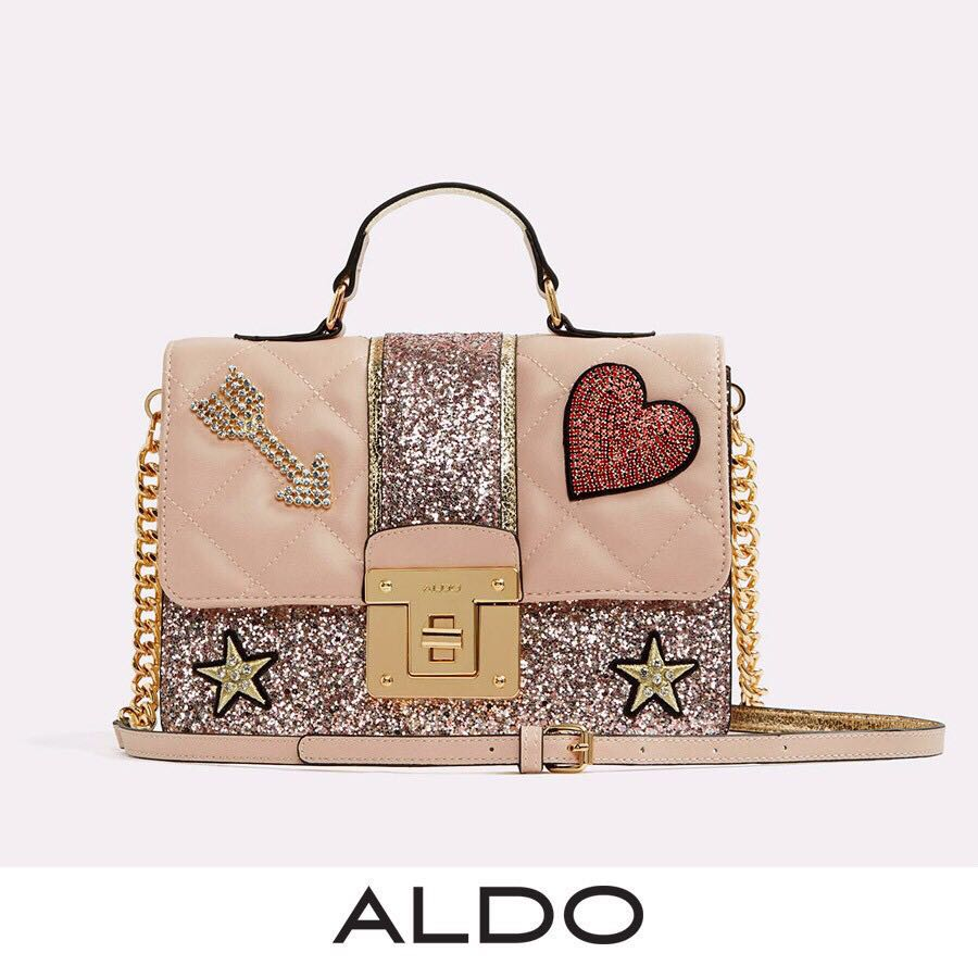 e985e240dce Aldo Glitter Pinky Multi Satchel Handbag, Women's Fashion, Bags ...