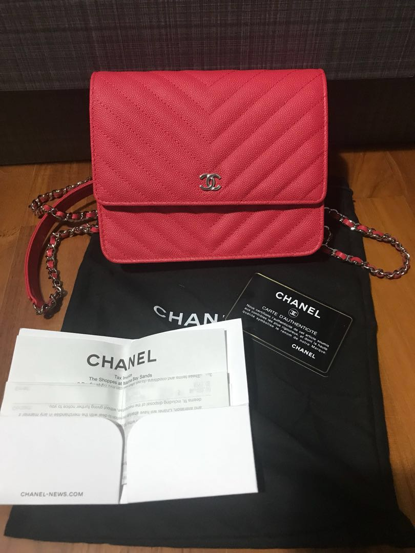 4aa99759a88e Authentic Chanel Square WOC, Women's Fashion, Bags & Wallets on ...
