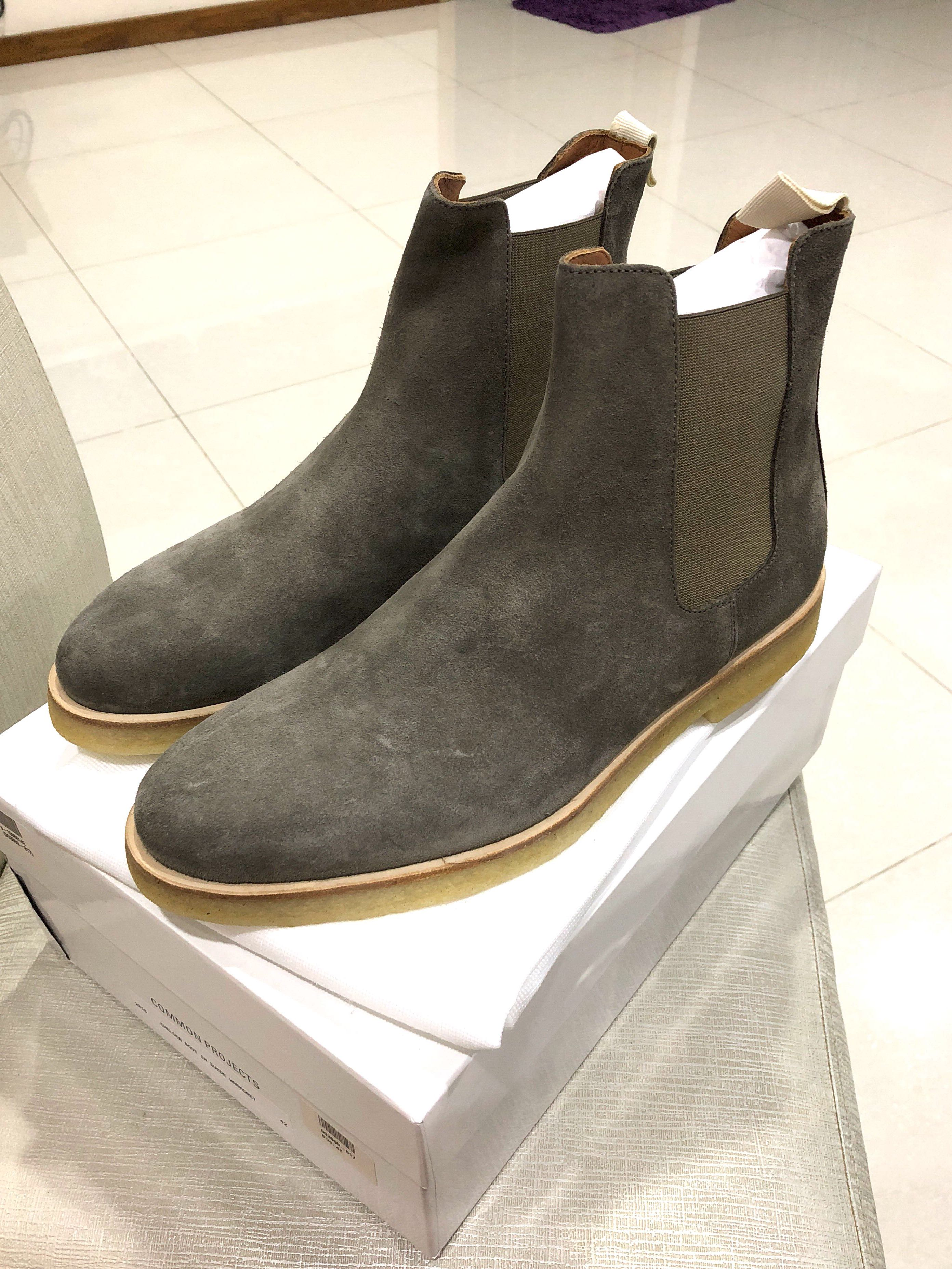 Authentic Common Projects Chelsea Boots