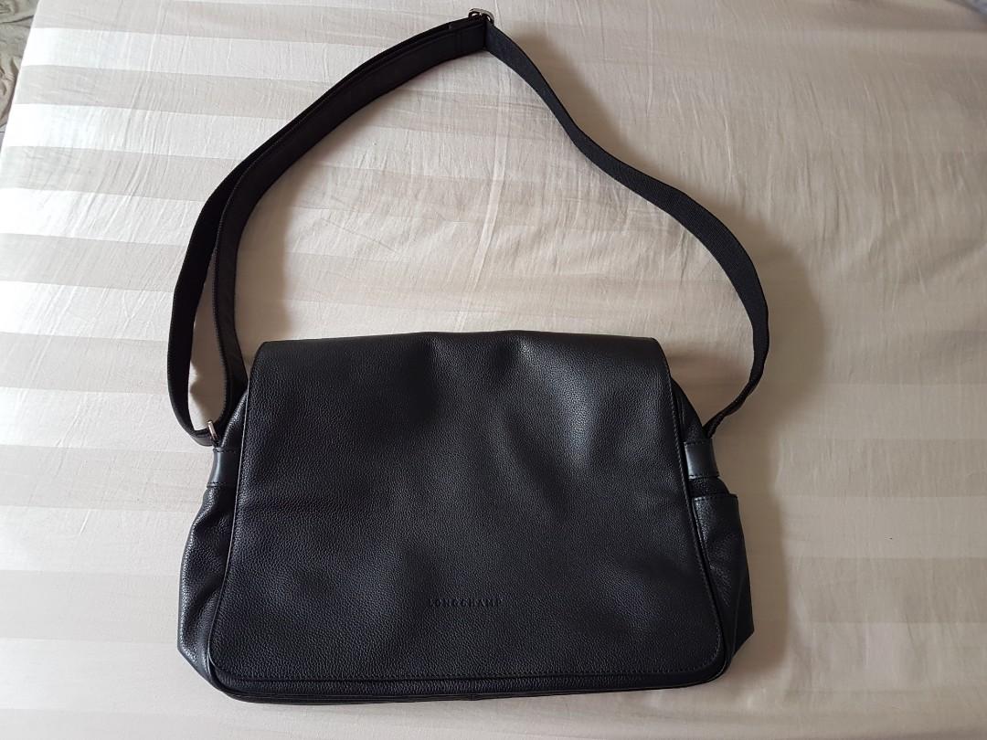 Authentic Longchamp Men sling bag ca8d9b03e7781