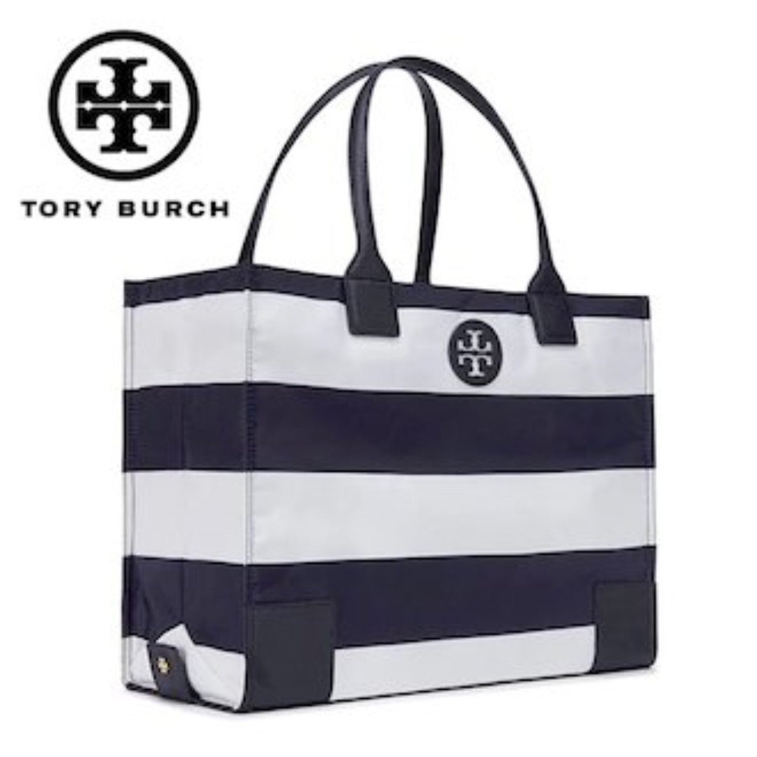 Authentic Tory Burch 12169784 Ella Printed Packable Tote, Luxury, Bags    Wallets, Handbags on Carousell 40aecc008f