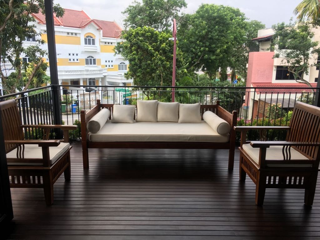 Picture of: Balinese Daybed Set Furniture Sofas On Carousell