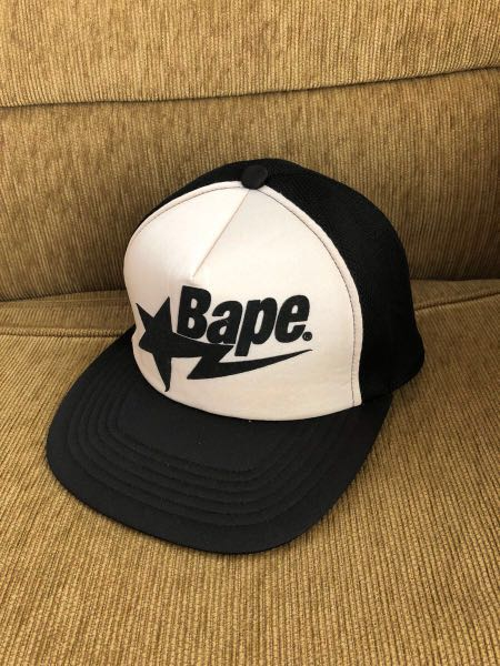 267ac8efdfa bape star mesh cap