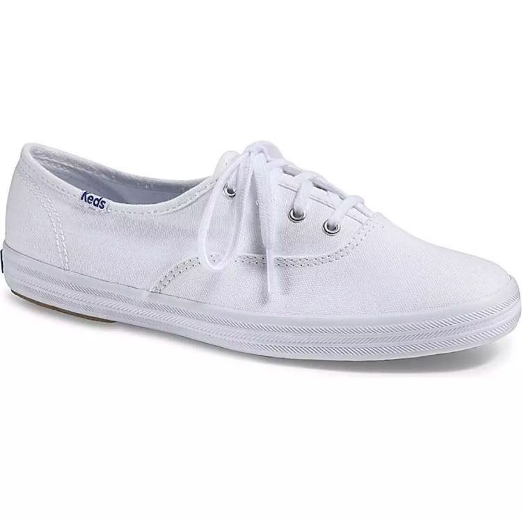 56a6e2ee47a75e BNIB Authentic Keds Champion Originals White Canvas Sneakers ...