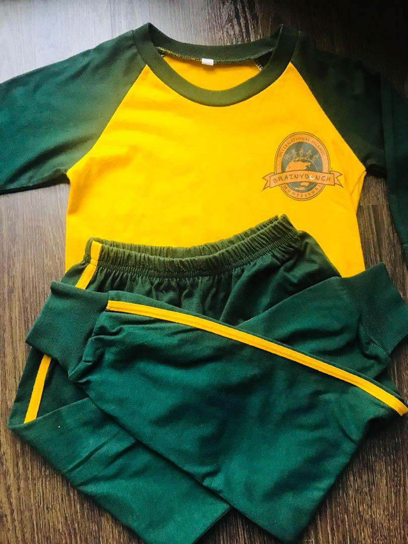 Brainy Bunch Sport Uniform Babies Kids Boys Apparel On Carousell