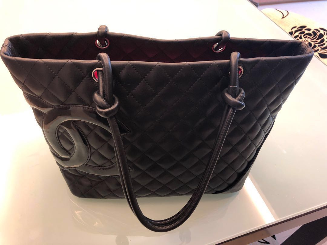 14f54f021ba2af Chanel Cambon Large Tote, Luxury, Bags & Wallets, Handbags on Carousell