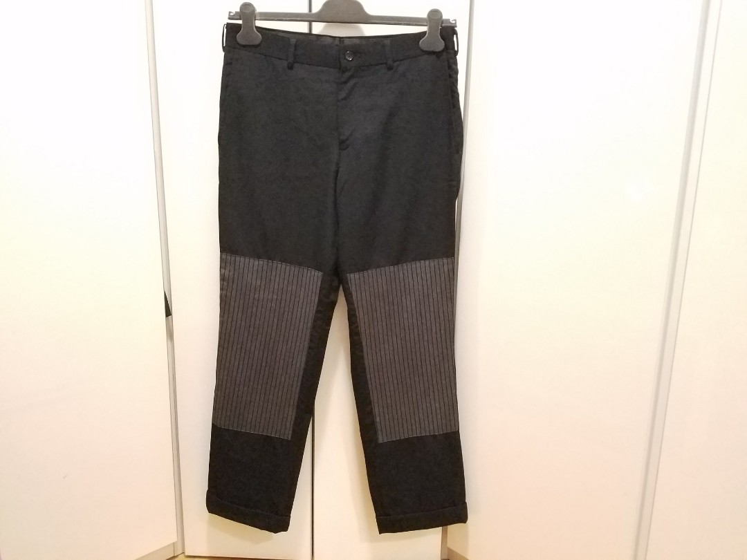 patchwork pants comme