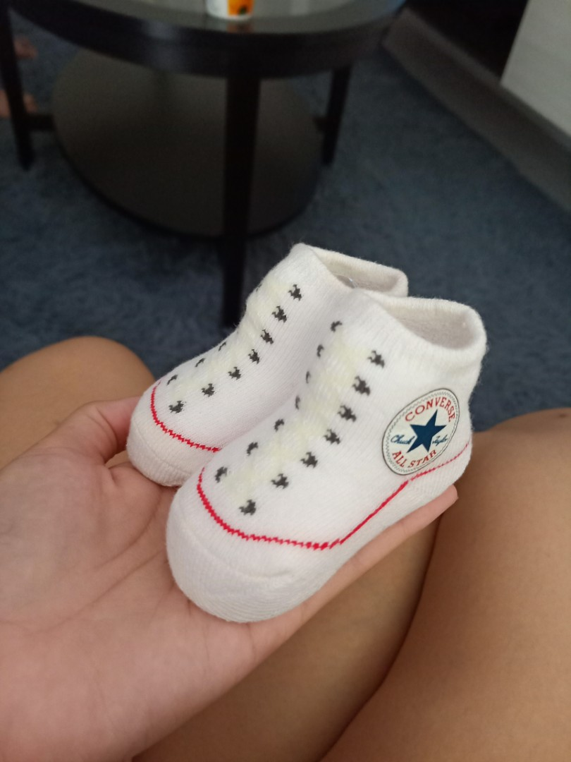 ad7ca1f1e373 Converse Baby Booties