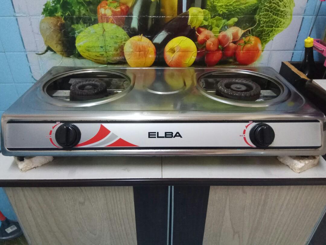 Dapur Gas Elba Good Condition Kitchen
