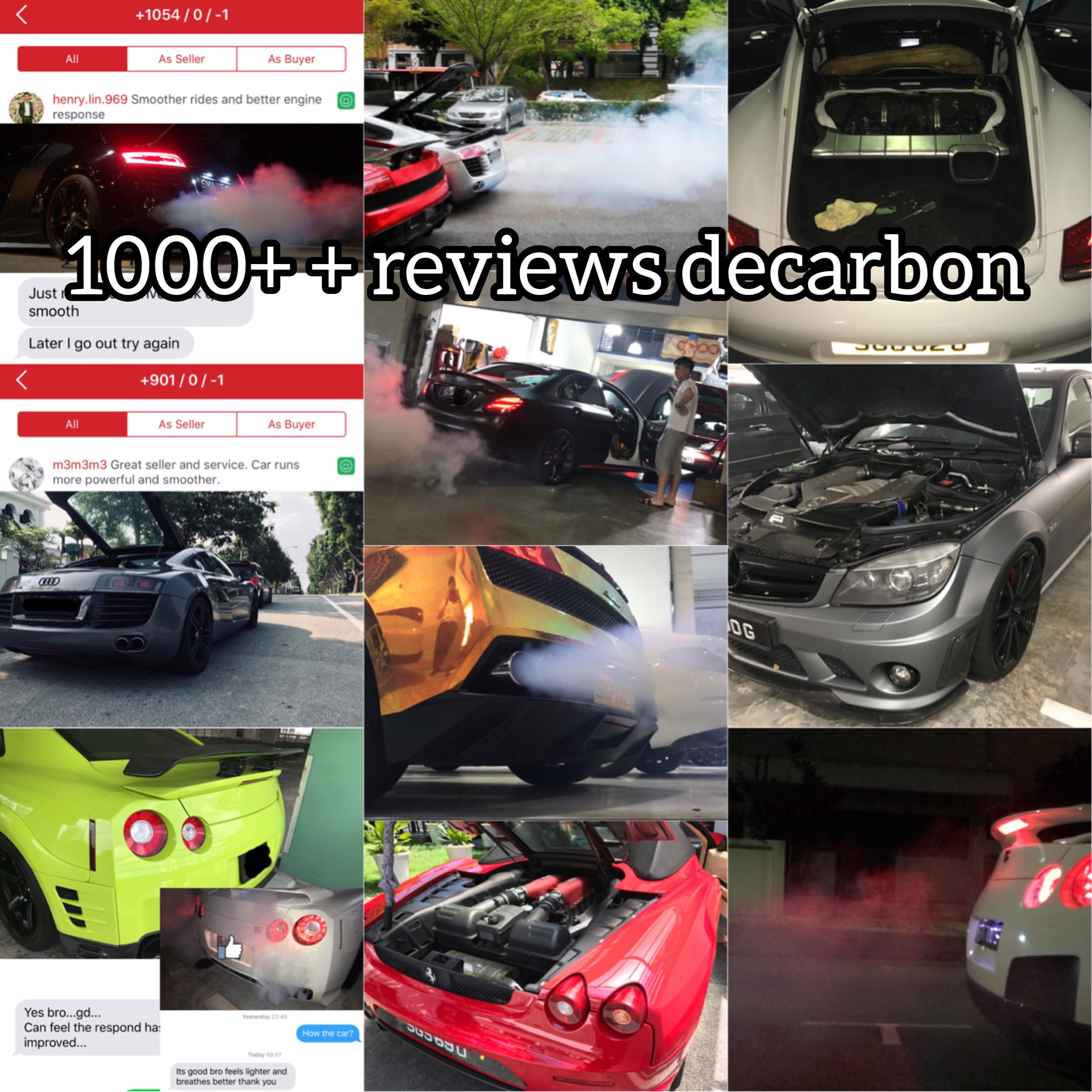 Decarbon Clear Carbon The Only 1000 Reviews Beware Of Imposter Per Tein Suzuki Swift Zc21 Photo