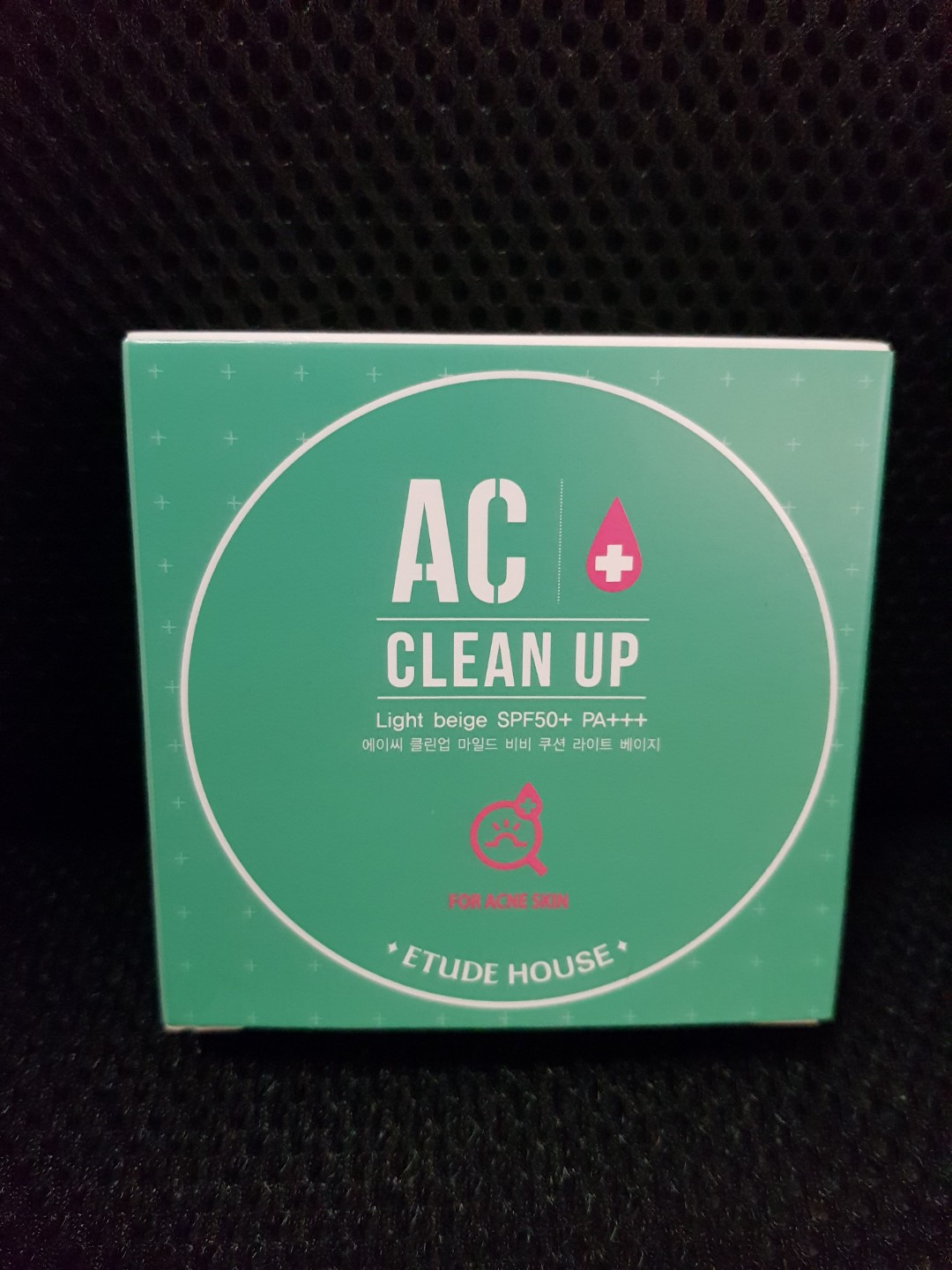 Etude house AC Clean up cushion refill in light beige, Health & Beauty, Makeup on Carousell