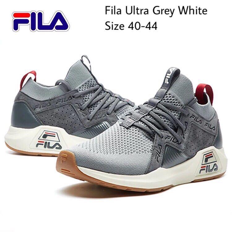 61d7d36ebd5 Fila Ultra Grey White