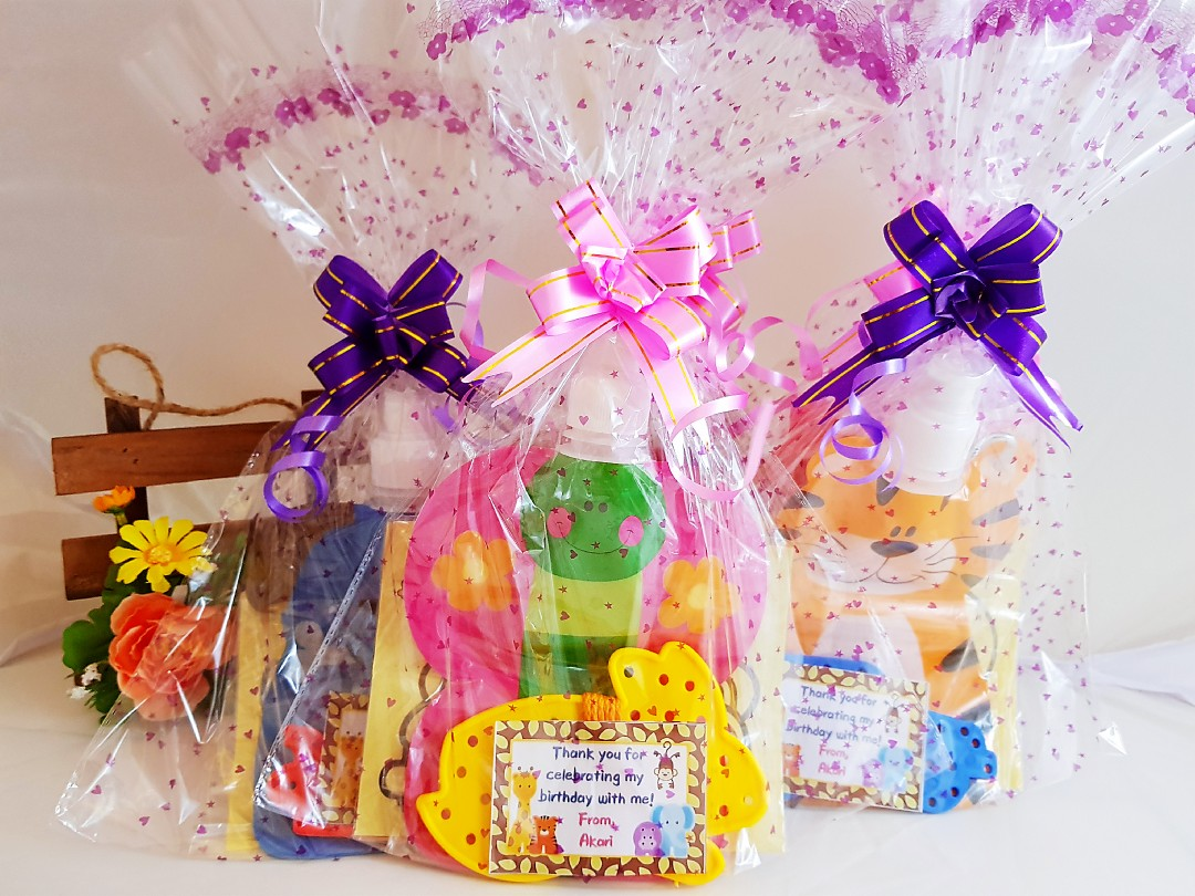 Goodie Bag Goody Birthday For Kids Water Pouch