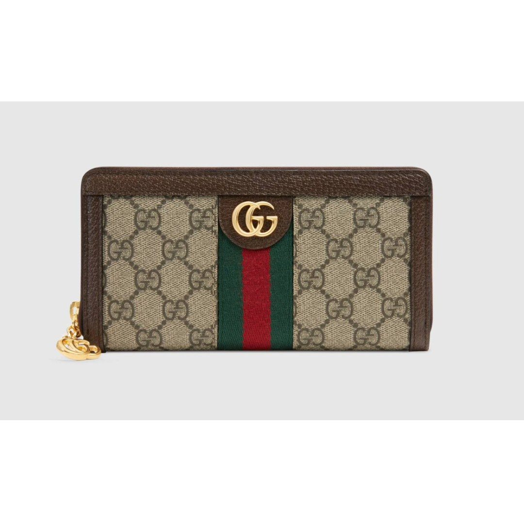 be7807a11066 Gucci Ophidia GG zip around wallet (NEW!), Women's Fashion, Bags ...