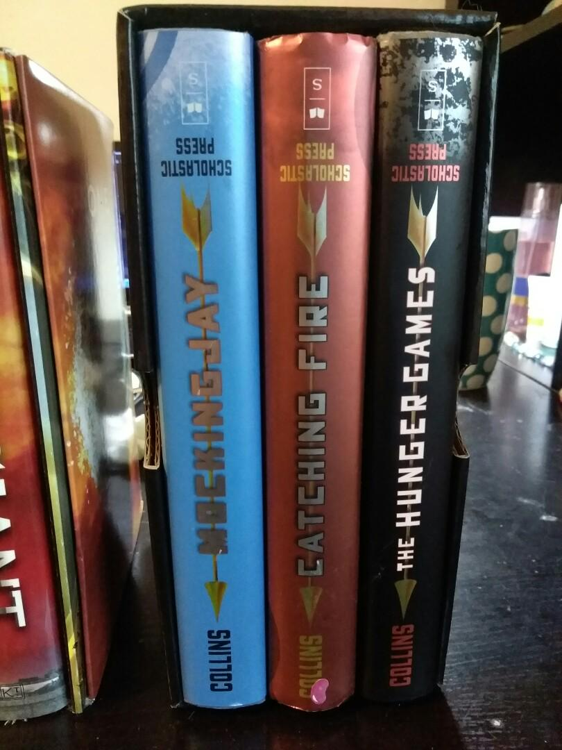 Hardcover Hunger Games Series