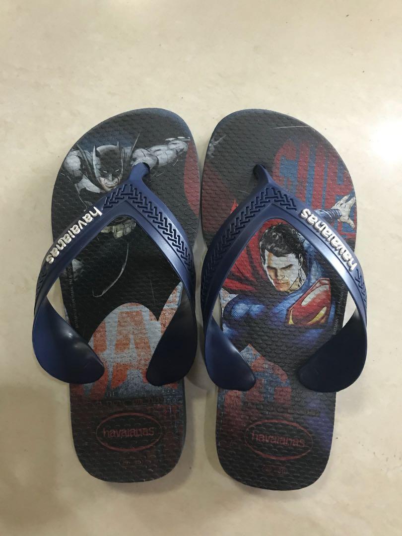 8b24e5623771 Havaianas kids Batman Superman flip flop 29 30