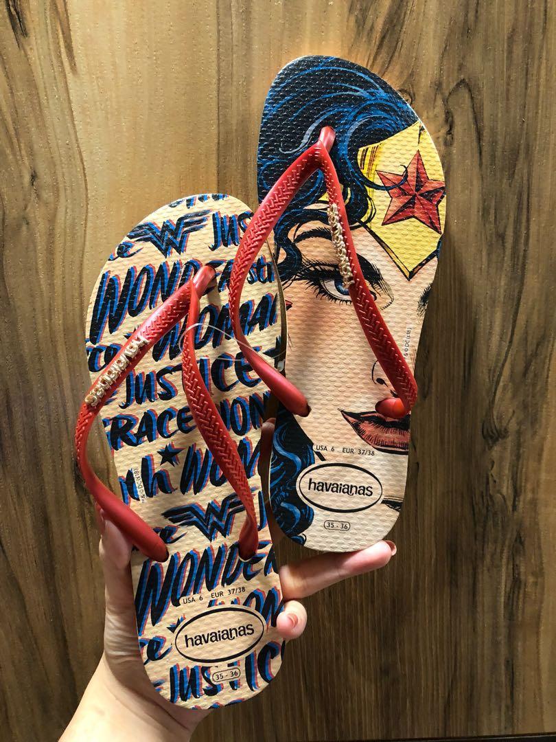 9e17df83c4e5 Havaianas Slippers (Wonder woman)