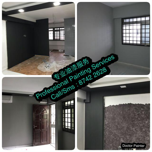 House Painting Services (Free Momento Painting for 1 wall)