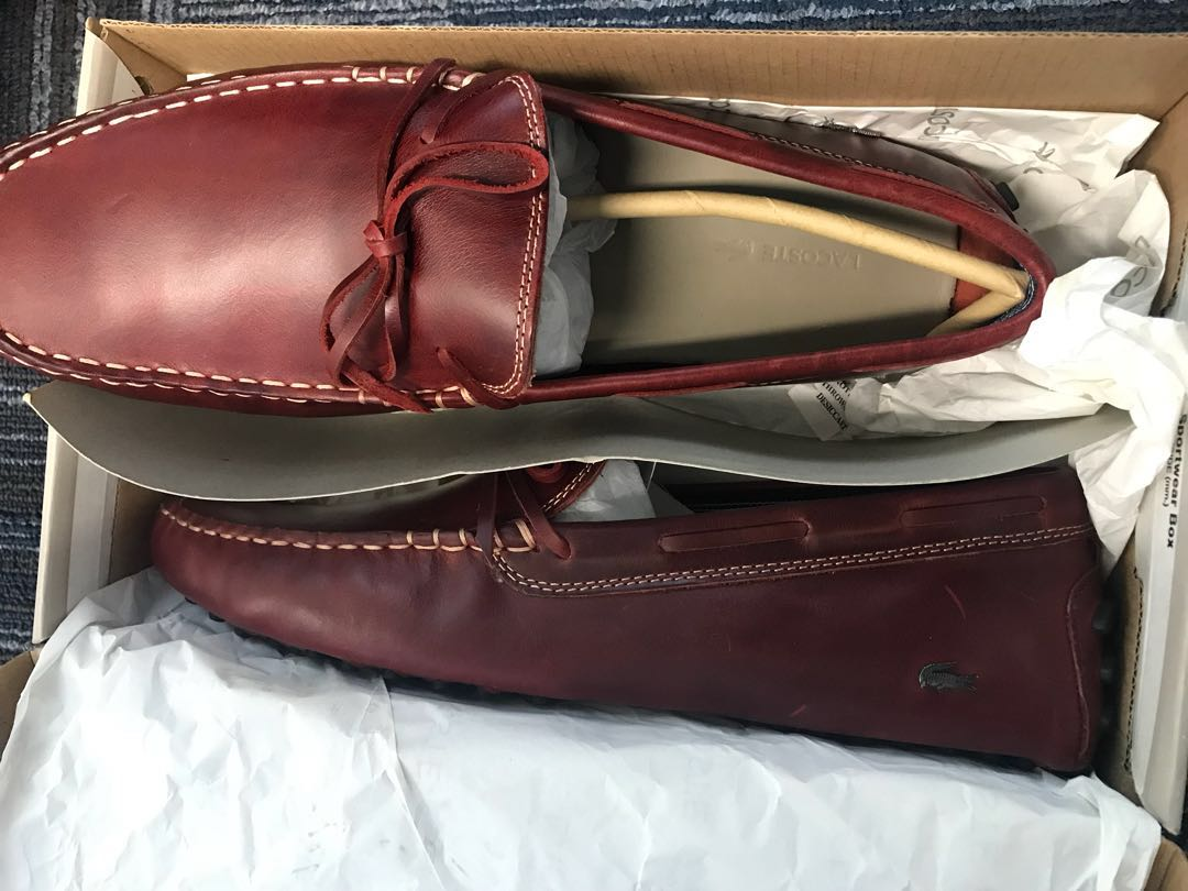 Lacoste loafers shoes size 43, Men's