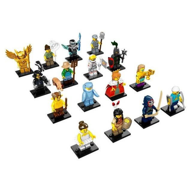 LEGO Collectible Minifigures Series 15 - 71011 Complete 16 Set (NEW &  FACTORY SEALED CONDITION)