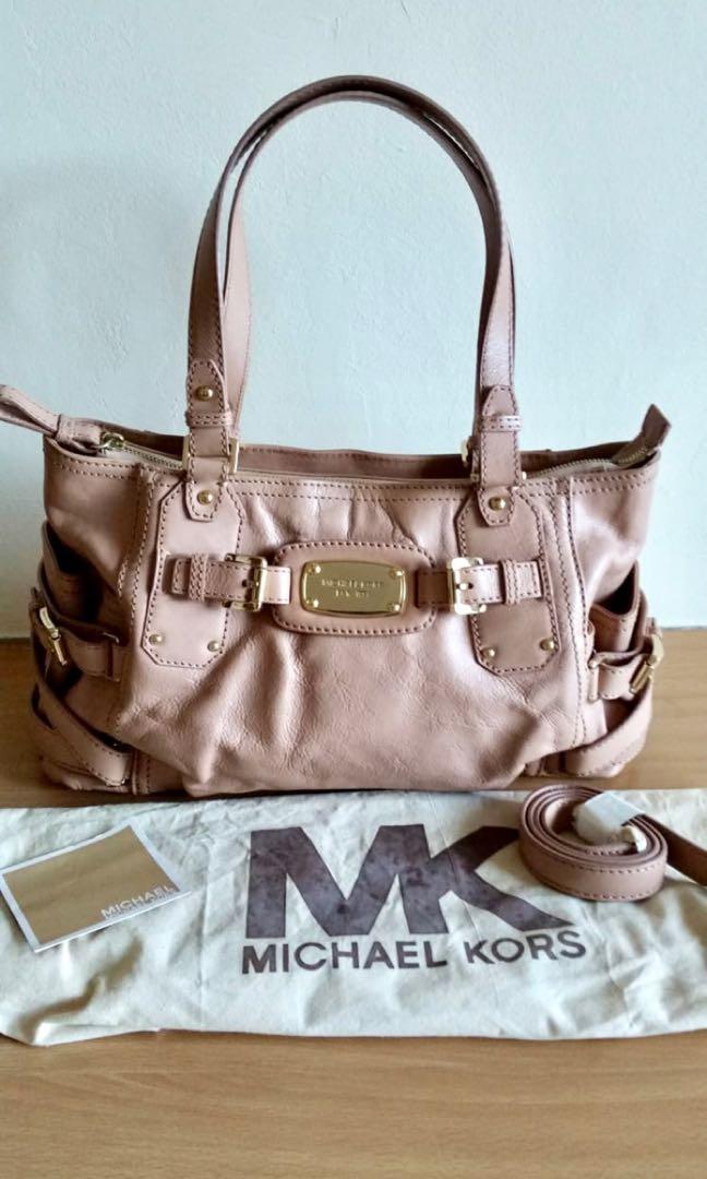 5698f347db Michael Kors Rose Pink bag, Luxury, Bags & Wallets, Handbags on ...