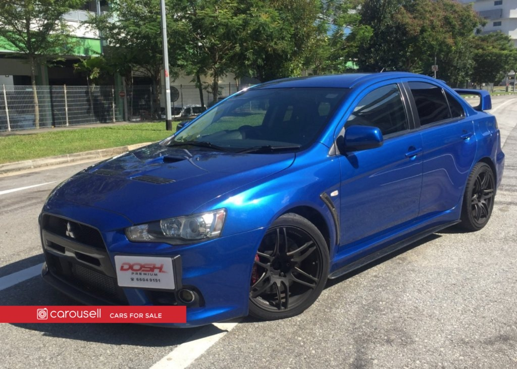 Mitsubishi Evolution 10 Gsr Sst New 10 Yr Coe Cars Cars For Sale