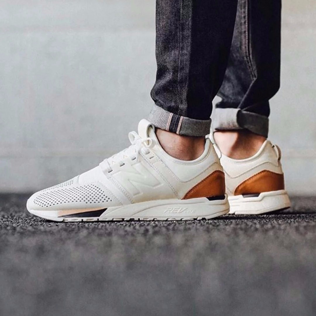 7a39471f48f MRL247BE US 9.5 New Balance 247 Luxe Pack Off white / Beige