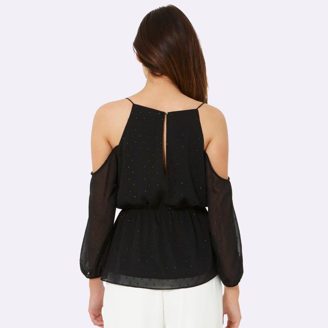 New Forever New Wrap Top