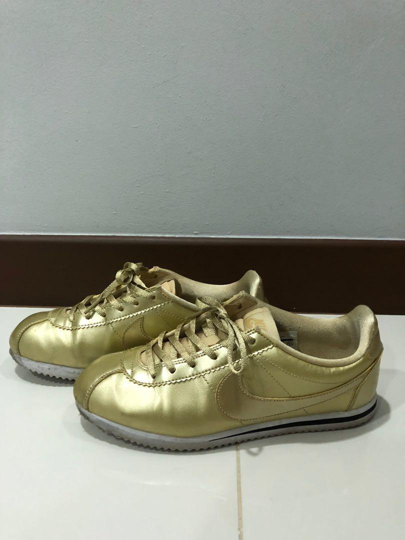 Shoes Gold 6 6 Us Fashion 39 Uk Cortez 5 Eur Nike Women's 4xwAPOUx
