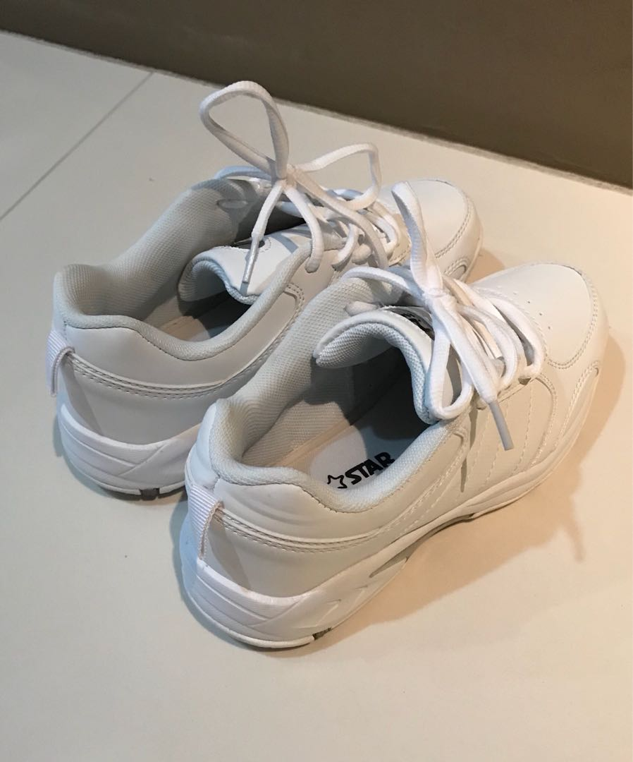 North Star Kids school shoes(white