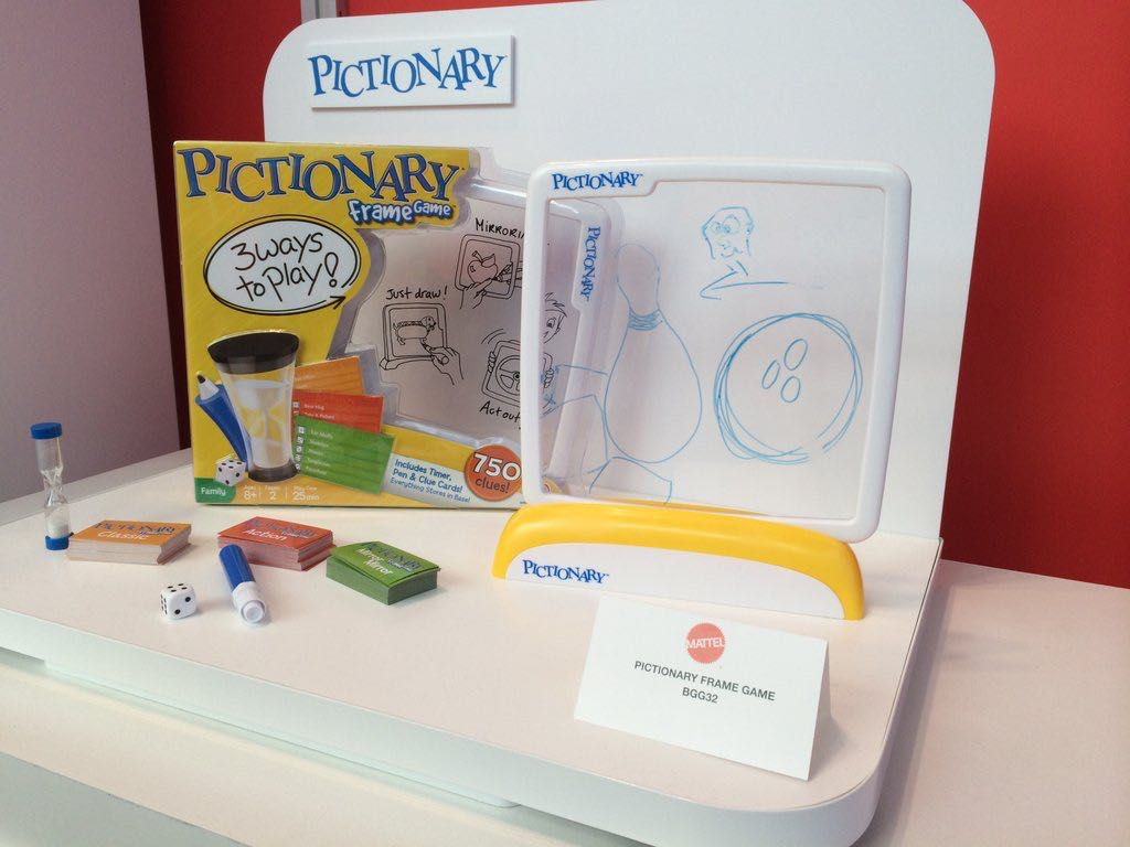 Pictionary Frame Game, Babies & Kids, Toys on Carousell