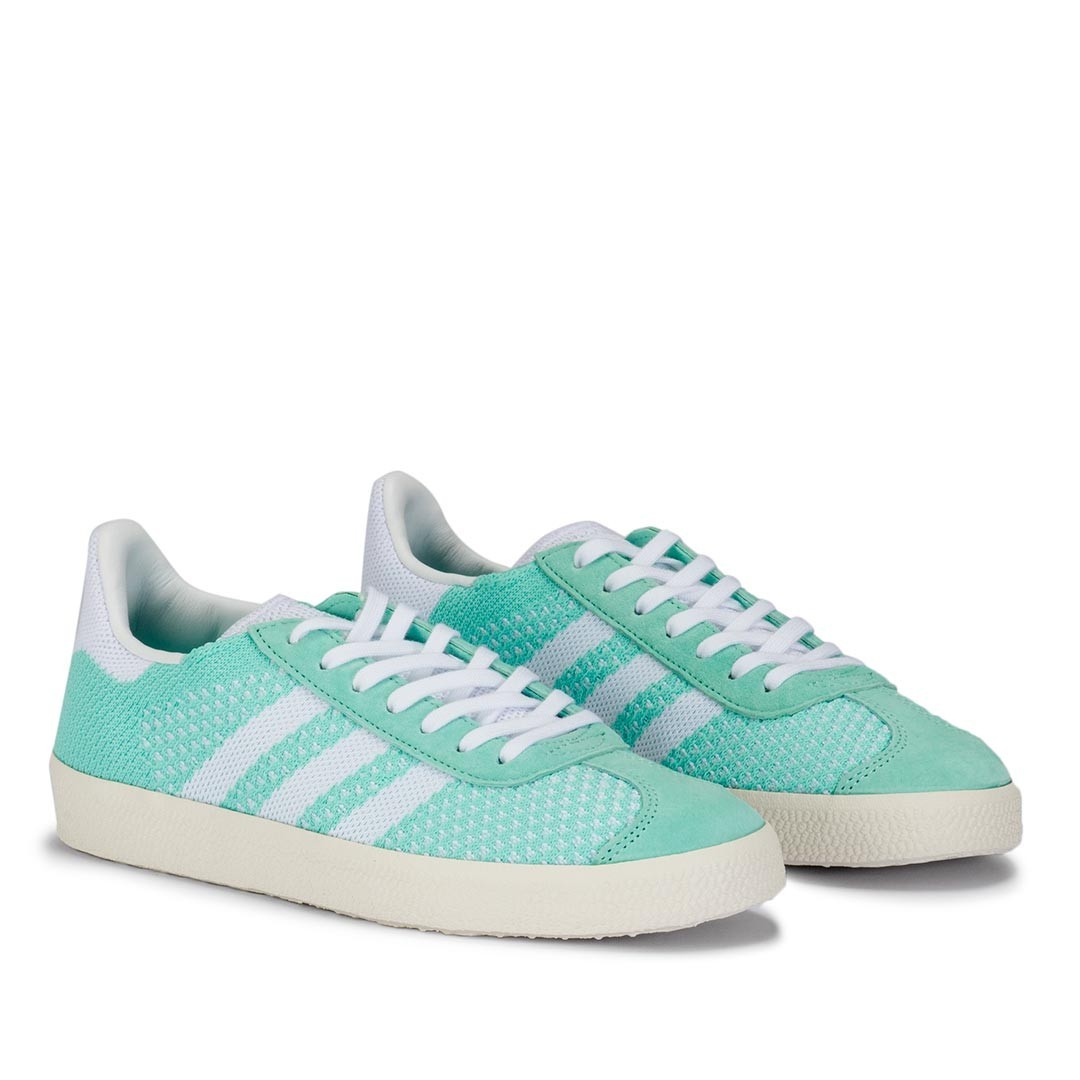 quality design cb593 5929f (PO) Adidas Womens Gazelle Primeknit Mint Green, Women s Fashion, Shoes,  Sneakers on Carousell