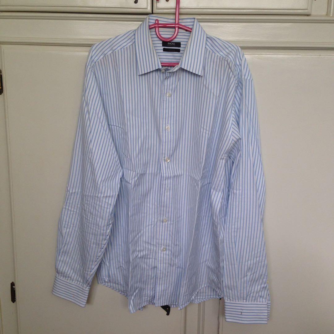 947784122 Raoul - Men s Long Sleeves Polo - UK Size 42