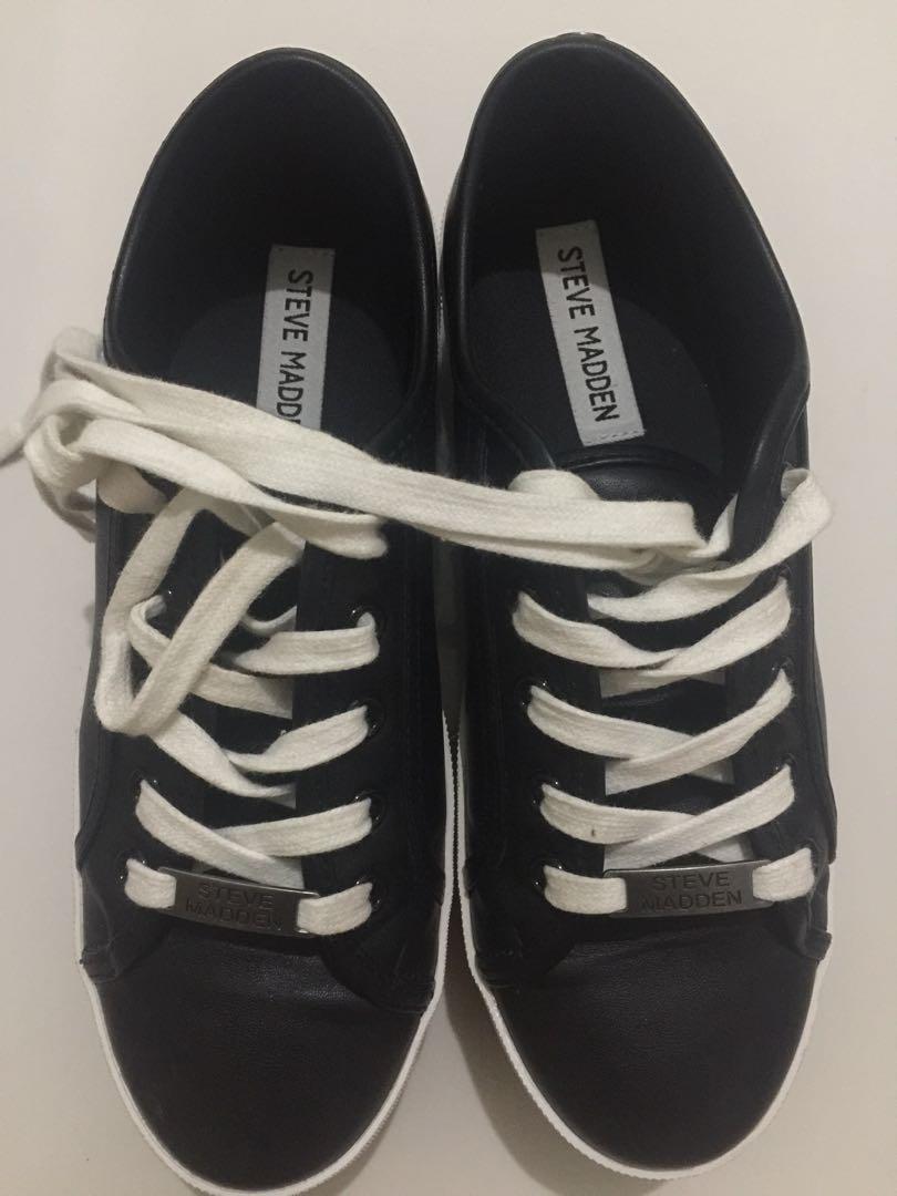 Sepatu Kece Steve Madden Original Lengkap Kotak Fesyen Wanita Di Carousell