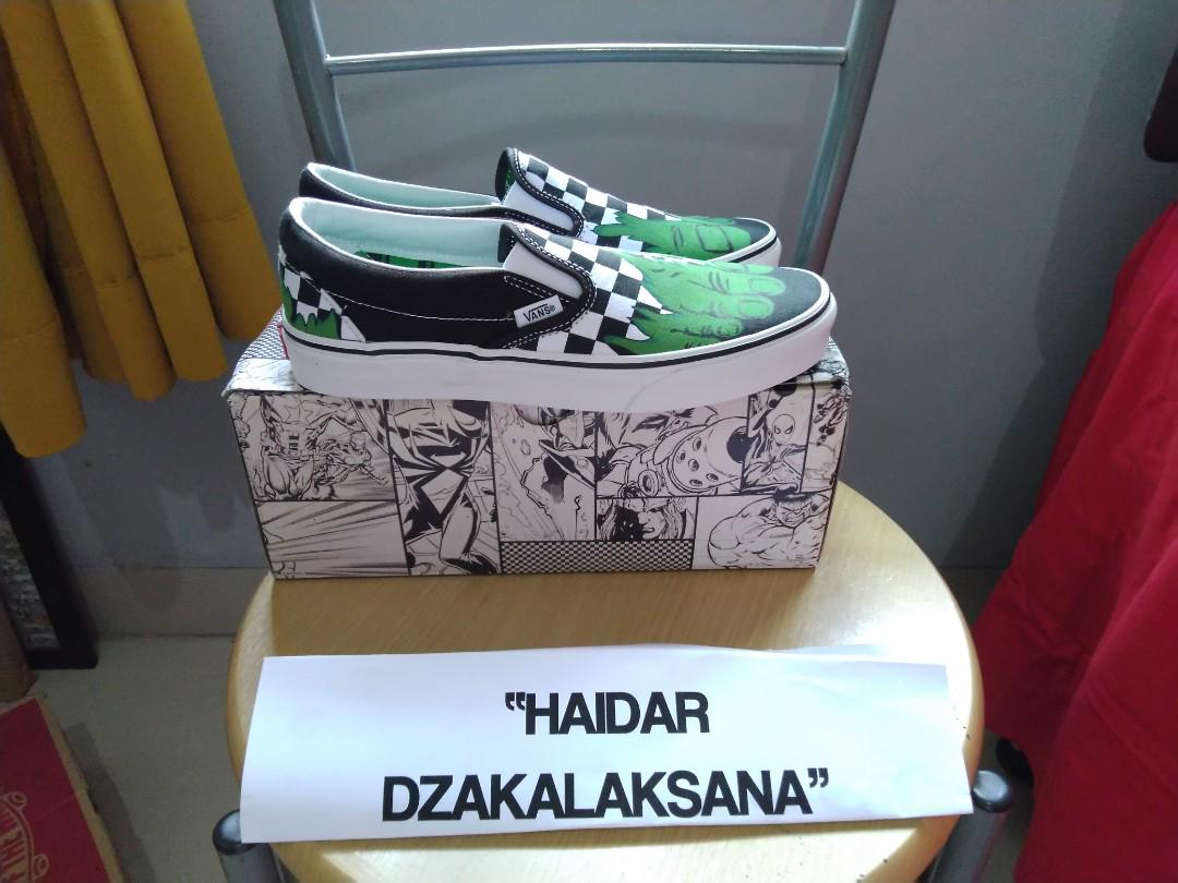 0e64c78ec Sepatu Vans Hulk Checkerboard Original (Oldskool Nike Adidas Bape Puma  Converse NMD Yeezy Ultra boost