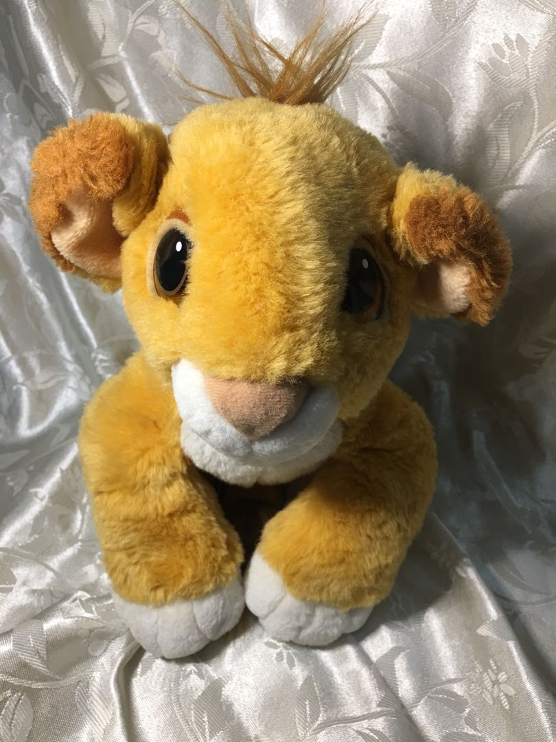The Lion King Simba Stuffed Toy Toys Games Toys On Carousell