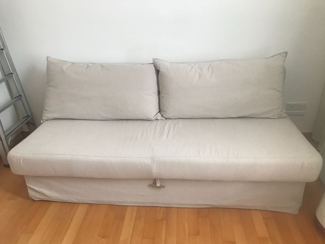 Excellent Used Ikea Himmene Sofa Bed Furniture Sofas On Carousell Bralicious Painted Fabric Chair Ideas Braliciousco