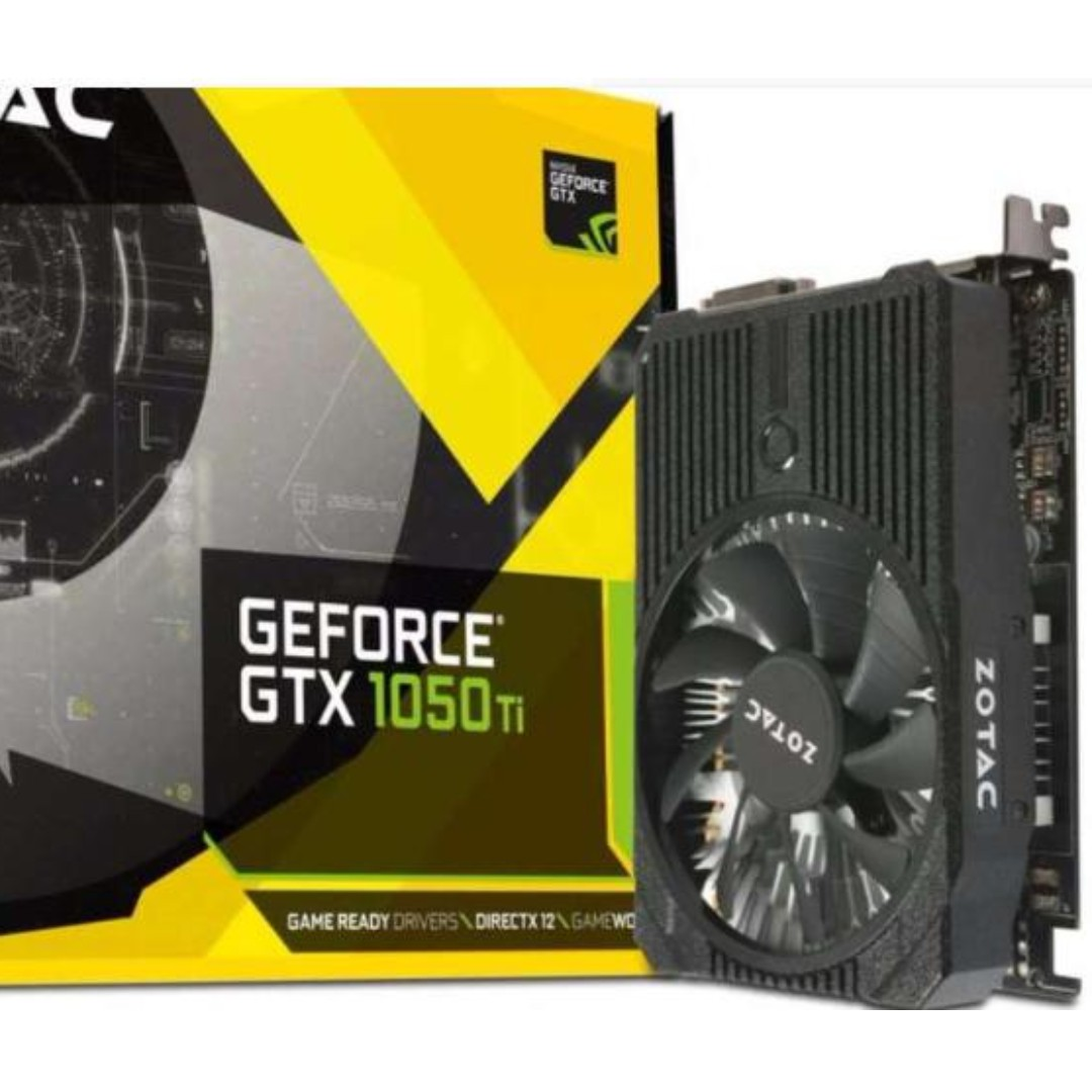 ZOTAC GeForce® GTX 1050 Ti Mini 4GB