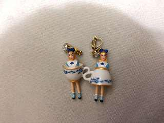 N2 mushroom Alice earring 愛麗絲 耳環 閃石