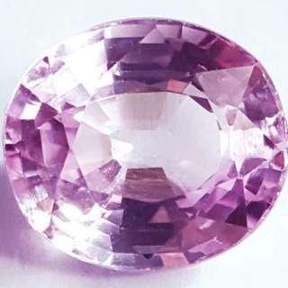 (8.22 Cts) Natural Pink Sapphire Gemstone 粉紅藍寶裸石