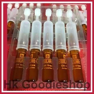 5支 Endocare C Oil free SCA 40% 蝸牛精華, 20% 維C Vit C (無油配方) 適合普通/暗瘡/油性皮膚 EXP: 10/2021
