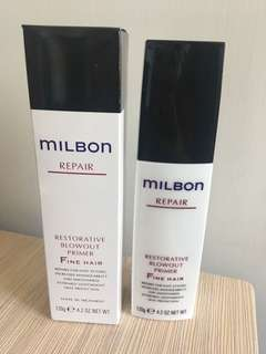 Milbon Restorative Blowout Primer for Fine Hair