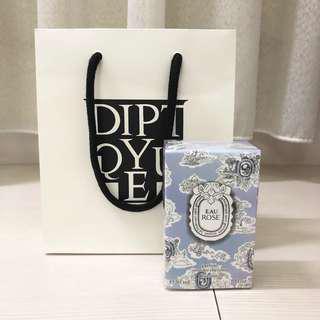 Diptyque 2018限量情人節玫瑰之水髮型噴霧30ml